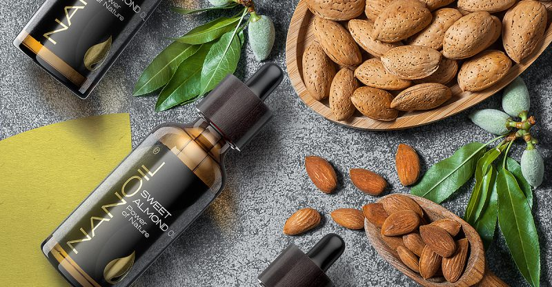 nanoil sweet almond oil for hair